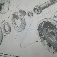 Барабан Муфты Реверс редуктор на двигатель 3Д12
