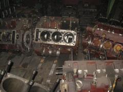 Блок двигателя 1Д20 с валом коленчатым