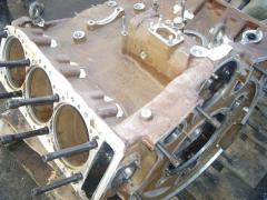 Блок-картер двигателя типа Д20
