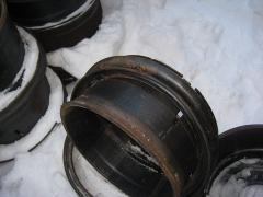 Диск колеса газ-66 нового образца