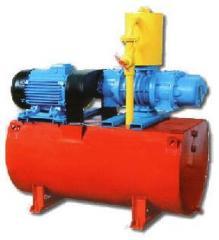 Unit vacuum 2AVD-20 and installations vacuum