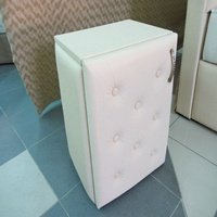 Curbstone bedside CUPID, a bedside table, a