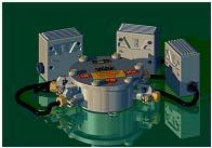 Устройство предупредительной сигнализации типа ПС-КУ для забойных машин с электроприводом ПС-КУ1