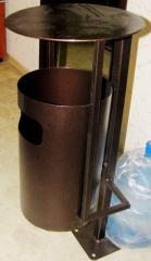 Ballot box metal