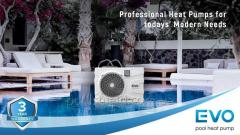 Heat pump for EVO EP-40P pool