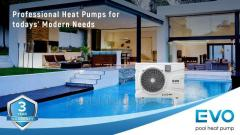 Heat pump for EVO EP-70P pool