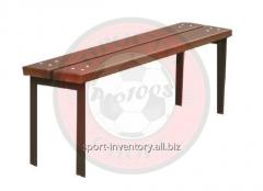 Bench for playground standard