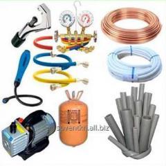 Расходные материалы для монтажа  систем вентиляции