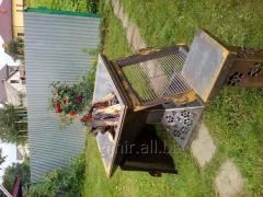 We project and make a metalwork, the DECOR, BALLOT BOXES, BRAZIERS