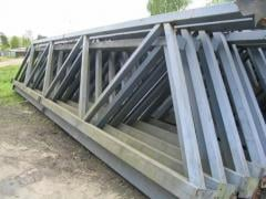 Civil engineering metal constructions