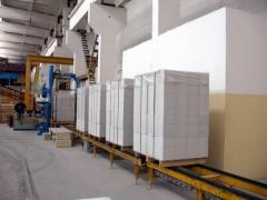 Блоки стеновые бетонные Марка Д500, Д600.
