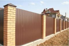 Fences from a professional flooring