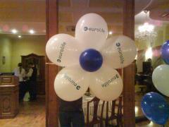 Воздушный шар с логотипом - лучшая реклама.