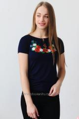 Women's Embroidered T-Shirt Macy's A-23