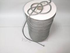 Шнур для одежды 4 мм светло-серый