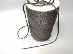 Шнур для одежды 4 мм темно-серый