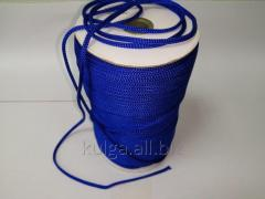 Шнур для одежды 4 мм электрик