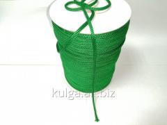 Шнур для одежды 4 мм светло-зеленый (трава)