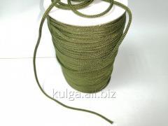 Шнур для одежды 4 мм хаки (олива)