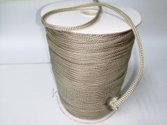 Шнур для одежды 4 мм бежевый (койот)