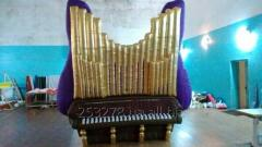 Inflatable organ piano decoration / Inflatable