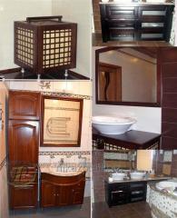 Мебель для ванной комнаты, мойдодыры, умывальники,