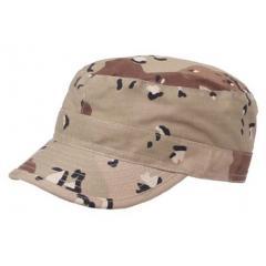 Камуфляжная кепка MFH рип-стоп 6 color desert