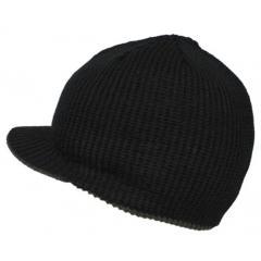Вязаная кепка, black