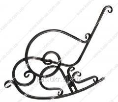 Металлический каркас кресла-качалки