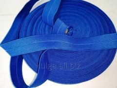 Резинка окантовочная пополамка 2,3 см электрик