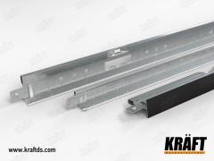 Профиль для подвесных потолков KRAFT Fortis T-15,
