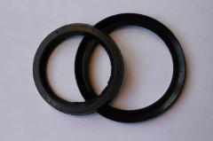 Манжеты резиновые уплотнительные 2-типа для пневматических устройств, ГОСТ 6678-72 (вн.диам. от 5мм до 100мм)