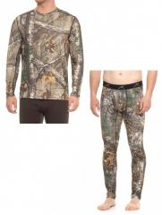 Термобелье для охоты Terramar Stalker Camo Base Layer Realtree Xtra