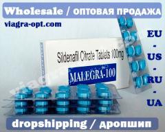 Viagra   Sildenafil 100mg   Malegra-100