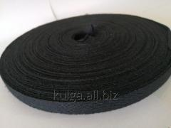 Лента киперная 13 мм черная Х/Б (50м)