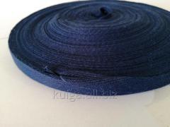 Лента киперная 13 мм темно-синяя Х/Б (50м)