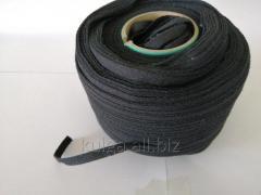 Лента киперная 10 мм черная Х/Б (150м)