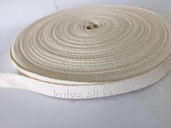 Лента киперная 15 мм (суровая) Х/Б (50м)