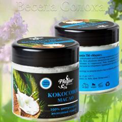 Натуральное кокосовое масло холодного отжима 240мл