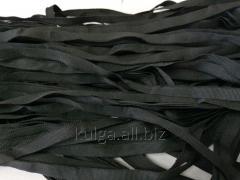 Тесьма репсовая 10 мм,  черная