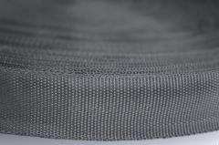 Лямовка D300 (окантовка наружная), 2.5см черная