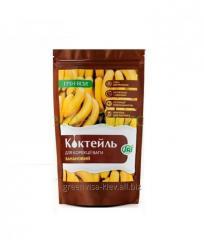 Banana protein cocktail Green-Visa 250 g 10