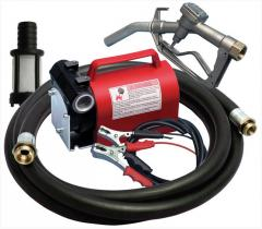 The pump for transfer and gas station of diesel