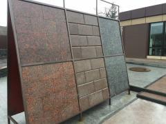 Плитка гранитная модульная, плитка гранітна