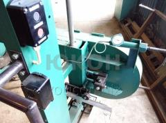 Sharpening machine for band saws grinding