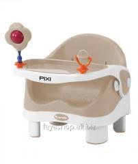 Стульчик для кормления PIXI Beige&WHITE