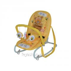 Шезлонг, кресло-качалка Top Relax YELLOW BEAR