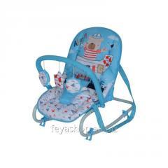 Шезлонг, кресло-качалка Top Relax Blue SAILOR