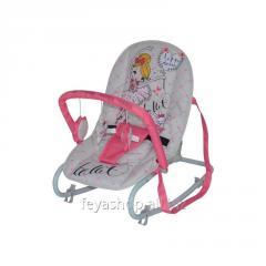 Шезлонг, кресло-качалка Top Relax PINK BALLET