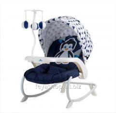 Шезлонг, кресло-качалка Dream Time Blue&WHITE PENGUIN